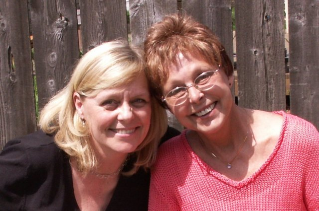 One of my favorite photos with my mom! - Sherry