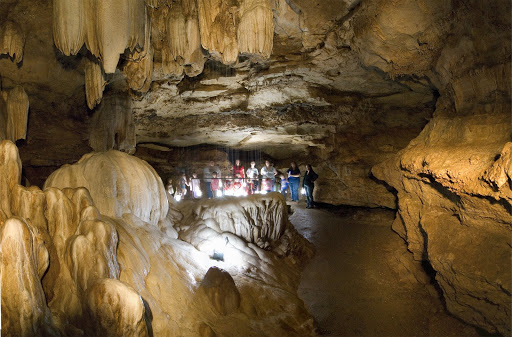 Ozark Caverns in Lake of the Ozarks State Park